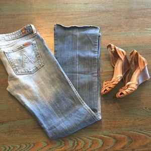 """7 for all Mankind """"A Pocket"""" 29"""